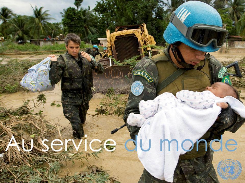 [Note : Cette photo a été prise à Haïti lors de l ouragan de 2008, pas lors du tremblement de terre]